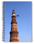 Qutab Minar Minaret - New Delhi - India Spiral Notebook