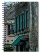 Quuen Street In Charleston Sc Spiral Notebook