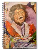 R B Legends Spiral Notebook