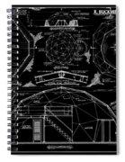 R. Buckminster Fuller Geodesic Dome Home Spiral Notebook