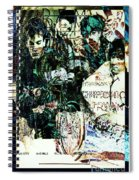 R E M / Exit Chronic Town Spiral Notebook