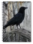 R Is For Raven Spiral Notebook