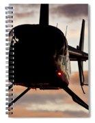 R44 At Sunset Spiral Notebook