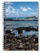 Rabbit Island Tide Pools Spiral Notebook