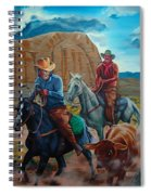 Rabbitbrush Round-up Spiral Notebook