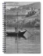 Rabelo Boat Spiral Notebook