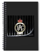 Royal Automobile Club Badge, Victoria Spiral Notebook