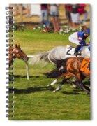 Race 6 - Del Mar Horse Race Spiral Notebook