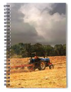 Race Against The Storm Spiral Notebook