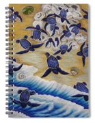 Race For Survivor Hand Embroidery Spiral Notebook