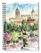 Race In Salamanca Spiral Notebook