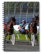 Race To The Finish Spiral Notebook