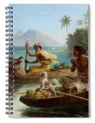 Race To The Market Tahiti Spiral Notebook