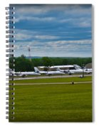 Race Week 2014 Pocono Airport  Spiral Notebook