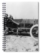Racecar Drivers, C1913 Spiral Notebook