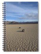 Racetrack Tres Spiral Notebook