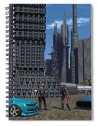 Racing For Titles Spiral Notebook
