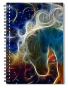 Racing The Stars Spiral Notebook