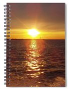 Racing To The Fish Before Sunrise Spiral Notebook