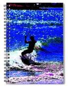 Rad Skimboarder Spiral Notebook