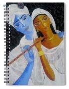 Radhakrsna Spiral Notebook