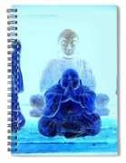 Radiant Buddhas Spiral Notebook