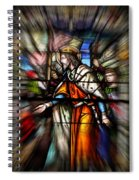Radiant Jesus Spiral Notebook