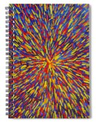 Radiation Blue Spiral Notebook