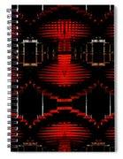 Radiation Dna Glow Spiral Notebook