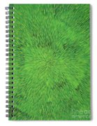 Radiation Green Spiral Notebook