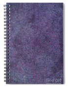 Radiation Violet  Spiral Notebook
