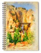 Radiator Springs Waterfall Spiral Notebook
