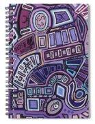 Radio Active Spiral Notebook
