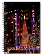 Radio City Music Hall Spiral Notebook