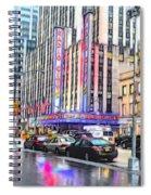 Radio City Music Hall New York City - 2 Spiral Notebook