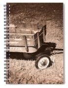 Radio Flyer Trav-ler Wagon Spiral Notebook