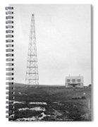 Radio Station, 1916 Spiral Notebook