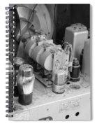 Radios Tubes Spiral Notebook
