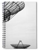 Radiotelescope Antennas.  Spiral Notebook