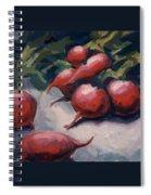 Radishes Spiral Notebook