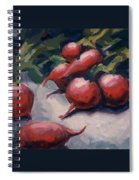 Radishes Spiral Notebook