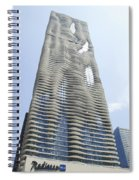 Radisson Blu Facade Vertical Spiral Notebook