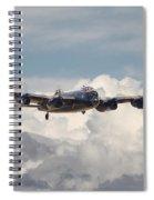 Raf Lancaster Spiral Notebook