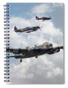 Raf Legends Spiral Notebook