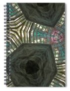 Rafters Abstract Spiral Notebook