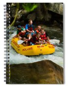 Rafting Bliss Spiral Notebook
