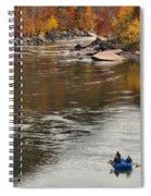 Rafting The New River Spiral Notebook