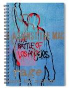 Rage Against The Machine Spiral Notebook