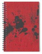 Rage Drip Art Spiral Notebook