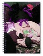Ragged Annie Dolls Spiral Notebook